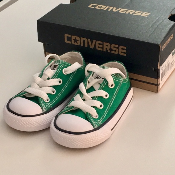 6d9da3c4719 Converse Other - NWOT Converse Infant Toddler Size 4 Amazon Green